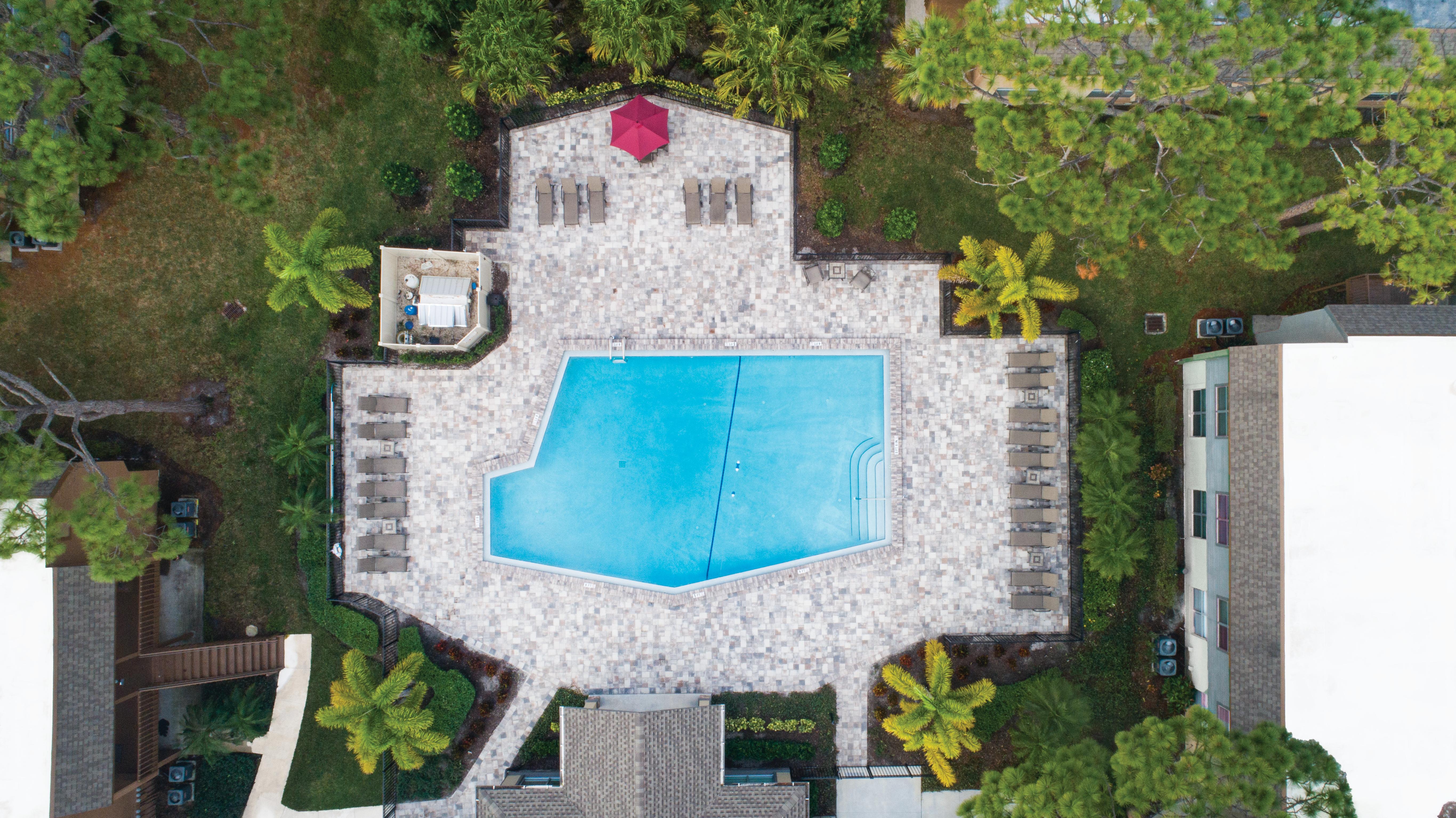 Anthem Clearwater Pool Aerial