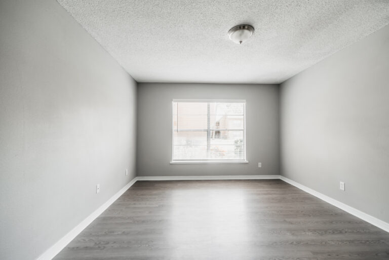 Hardwood style flooring in main living, kitchen and bathrooms